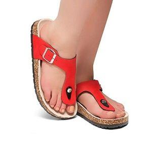 Abella Women's Comfort Thong Flip Flop